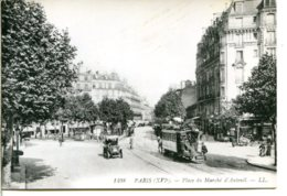 75016 PARIS - Jolie Reproduction Pour Circuler - CPM éditée Par Un Libraire D'Auteuil - Place Jean Lorrain - District 16