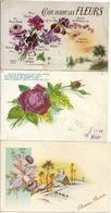 LOT DE 100 CARTES FANTAISIES Petits Formats (toutes Les Cartes Sont Scannées) - Cartes Postales