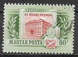 UNGHERIA  1955 CENTENARIO DELLO STATO YVERT. 1156 USATO VF - Ungheria