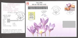 Estonia 2005 Stamp  FDC Mothers Day Mi 514 REGISTERED - Mother's Day