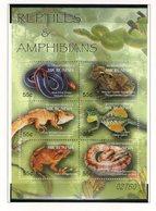 MICRONESIE 2004 REPTILES   YVERT N°1360/65  NEUF MNH** - Reptiles & Batraciens