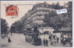 PARIS V- BOULEVARD SAINT-MICHEL- EX SEBASTOPOL RIVE GAUCHE - Arrondissement: 05