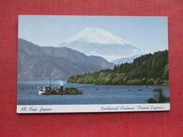 Mt Fuji Japan       Northwest Airlines Orient Express   >   Ref 3336 - Japan