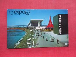 Expo 67 Canada  Pavilion Venezuela Ethiopia USSR & Morroco >   Ref 3336 - Exhibitions