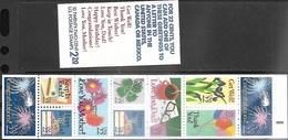 US  1987  Sc#BK155  2274a  22c  Greetings Booklet  Of 10  MNH  Face Value  $2.20 - Carnet (Carné)