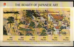 PALAU 2001 PHILANIPPON-PEINTURES JAPONAISES  YVERT N°1646/51 NEUF MNH** - Arts
