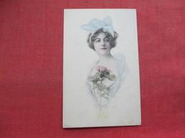 Female With Flower --------       Ref 3336 - Fashion