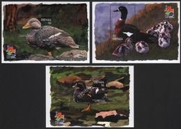 Grenada 2001 - Mi-Nr. Block 635-637 ** - MNH - Enten / Ducks - Grenada (1974-...)