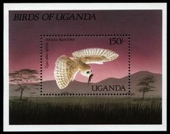 Uganda 1987 - Mi-Nr. Block 73 ** - MNH - Eulen / Owls - Uganda (1962-...)