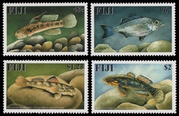 Fidschi 2002 - Mi-Nr. 1002-1005 ** - MNH - Fische / Fish - Fiji (1970-...)