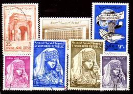 Siria-00093 - Valori Del 1961-63 (o) Used - Senza Difetti Occulti. - Siria