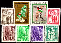 Siria-00095 - Valori Del 1964-66 (o) Used - Senza Difetti Occulti. - Siria
