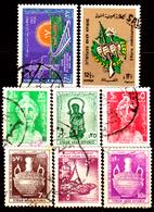 Siria-00097 - Valori Del 1966-68 (o) Used - Senza Difetti Occulti. - Siria