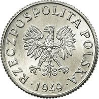 Monnaie, Pologne, Grosz, 1949, SUP, Aluminium, KM:39 - Grèce