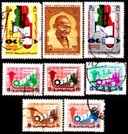 Siria-00100 - Valori Del 1968-69 (o) Used - Senza Difetti Occulti. - Siria