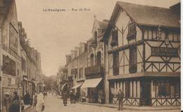 Carte Postale Ancienne  Du Pouliguen La Rue Du Bois - Le Pouliguen
