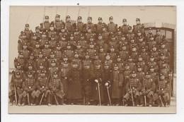 CARTE PHOTO MILITARIA Groupe De Militaires - Personnages