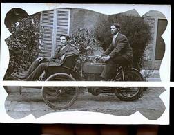 CHARLEVILLE OU RETHEL MOTS A 3 ROUES  ANCIENNES   PTE PHOTO      TRAIT ANTI COPIE - Charleville
