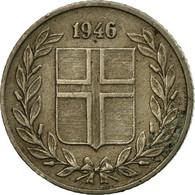 Monnaie, Iceland, 25 Aurar, 1946, TB+, Copper-nickel, KM:11 - Islande