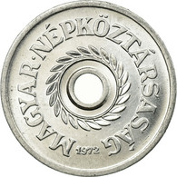 Monnaie, Hongrie, 2 Filler, 1972, Budapest, SUP, Aluminium, KM:546 - Ungheria