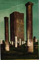 MAROC - RABAT TOUR HASSAN ET LES RUINES DE LA MOSQUEE - Rabat