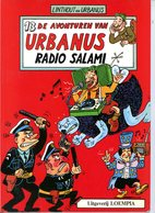 Urbanus 13 - Tegen De Dikkenekken (1ste Druk) 1987 - Urbanus