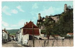 CREMIEU - Les Tours Et Rue De Bourgoin - Bon état - Format 9 X 14 - Crémieu