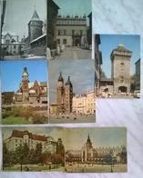 7 CART.  KRAKOW  (320) - Cartoline