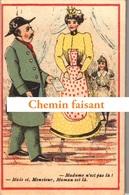 Chromo BROSSEAUD Le Pouliguen 44 - Humour De Famille - Scans Recto-verso - Chromos