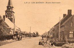 Les  Moêres -    Route  Nationale. - Autres Communes