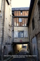Chinon (37)- Passerelle Rue Beaurepaire (Edition à Tirage Limité) - Chinon