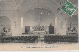 19 / 5 / 138  - LA  PLAINE - PRÉFAILLES  ( 44 )  INTÉRIEUR  DE  LA  CHAPELLE - Préfailles