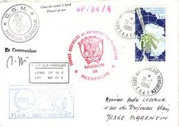TAAF - LOT DE 26 LETTRES - DIVERSES CACHETS D'EXPEDITIONS - DIVERS CACHETS DE BATEAU - QUELQUES SIGNATURE DE CAPITAINE - - French Southern And Antarctic Territories (TAAF)