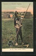 AK Argentina, Indio Guarani (Chaco), Indianer Mit Pfeil Und Bogen - Indianer