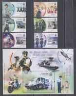 China Hong Kong 2019 Our Police Force (stamps 6v+SS/Block) - Ongebruikt