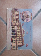 BRISTOL HOTEL Cairo Cartoncino Pubblicitario Finest Situation In The Centre Of The Town Famose Cuisine - Cairo