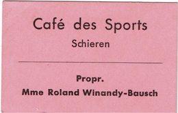 Luxembourg Jeton Cafe Des Sports Schieren - Luxemburg