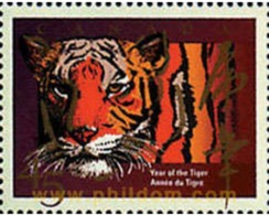 Ref. 34025 * MNH * - CANADA. 1998. NEW CHINESE YEAR OF THE TIGER . NUEVO AÑO CHINO DEL TIGRE - Stamps