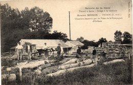 -VEUZAIN Sur LOIRE - ONZAIN - Scierie De La Gare - Adrien MORIN - - Autres Communes