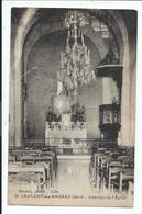 Saint Laurent Des Arbres , Interieur De L'eglise ,st Laurent - France