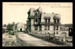 55 - VARENNES-EN-ARGONNE - VILLA ET EGLISE EN RUINES - France