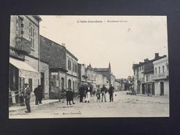 CPA GERS L'ISLE-JOURDAIN Boulevard Carnot - Autres Communes