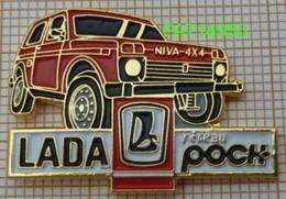LADA NIVA 4x4 Reseau  POCH - Pin's