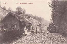 52 - CHAMOUILLEY - La Gare - France