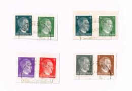 """Oblitération """"Luxemburg"""" Sur Adolf Hitler.Yvert 705/10 - Germany"""