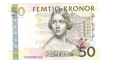 BANKNOTES-50-SWEDEN-CIRCULATED-IN THE VERY GOOD CONDITIONS-SEE-SCAN - Sweden