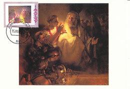D37109 CARTE MAXIMUM CARD 2006 NETHERLANDS - ST. PETER'S DENIAL BY REMBRANDT CP ORIGINAL - Rembrandt