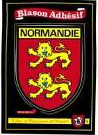 CPM* N°3228 - BLASON ADHESIF NORMANDIE - VILLES ET PROVINCES DE FRANCE - Andere Gemeenten