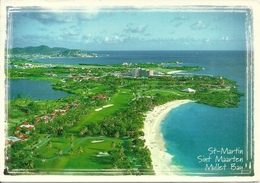 Saint Martin (Guadeloupe, French West Indies) Mullet Bay, Aerial View, Vue Aerienne - Saint Martin