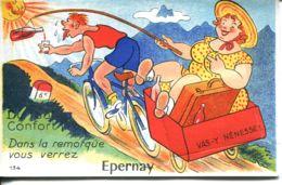 N°72861 -carte à Systèmes Epernay -complet- - Mechanical